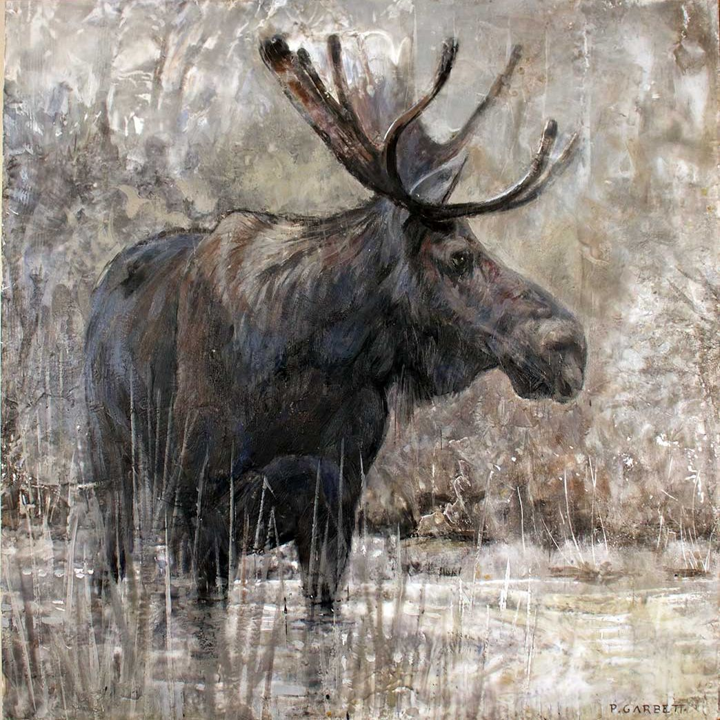 Algonquin Moose Limited Edition Print 61-08 LEP