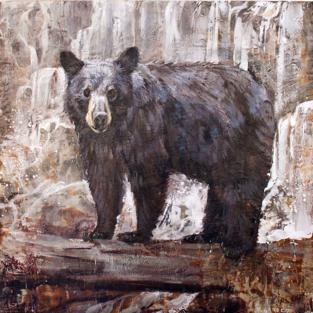 Bear at Waterfall Limited Edition Print #61-14