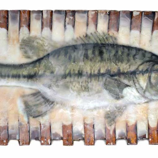 Fish in a Canoe Limited Edition Print 61-13 LEP