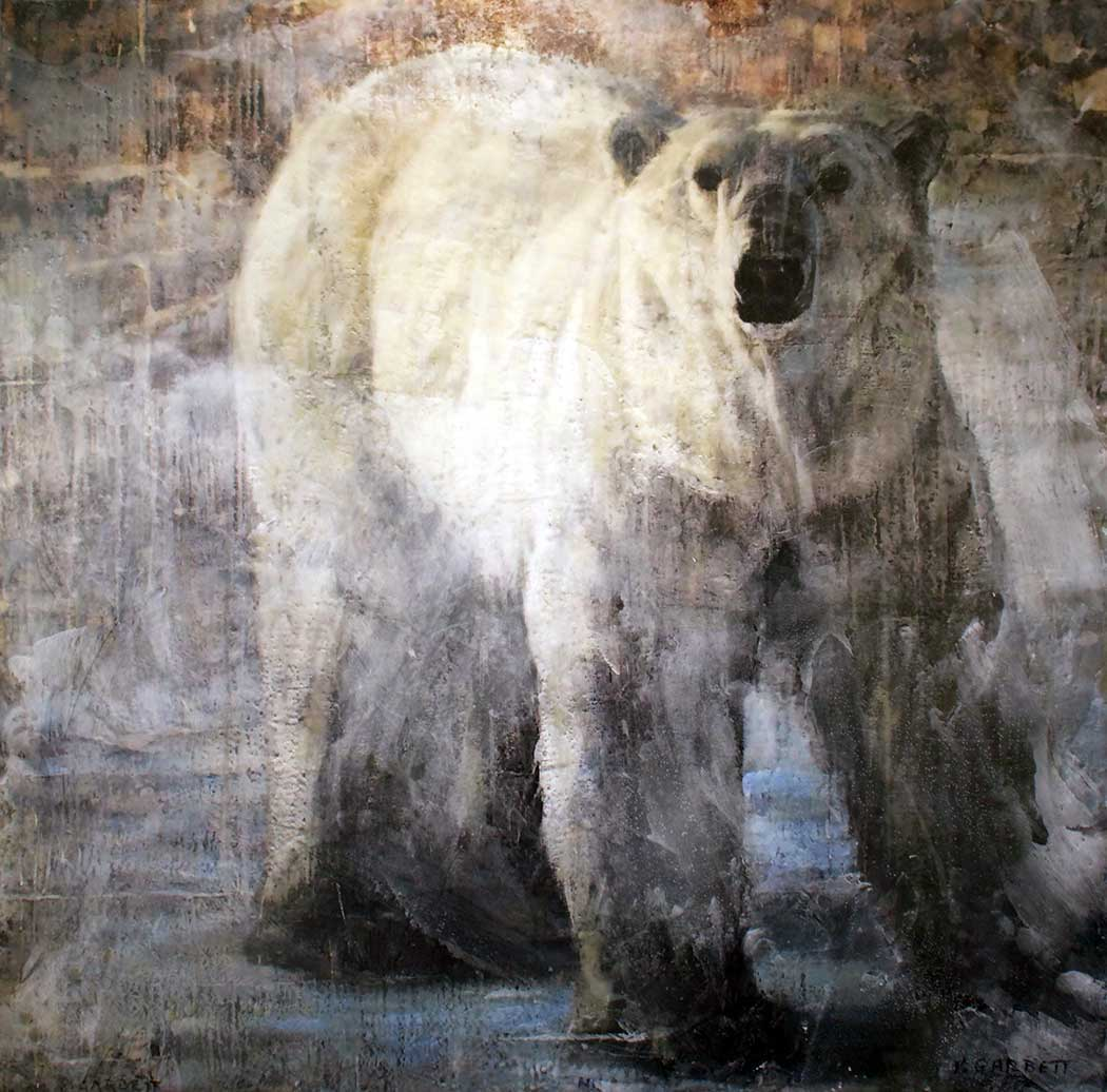 Polar Bear LE 59-06 Limited Edition Encaustic