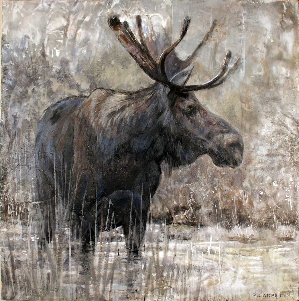 Algonquin Moose  Limited Edition Print
