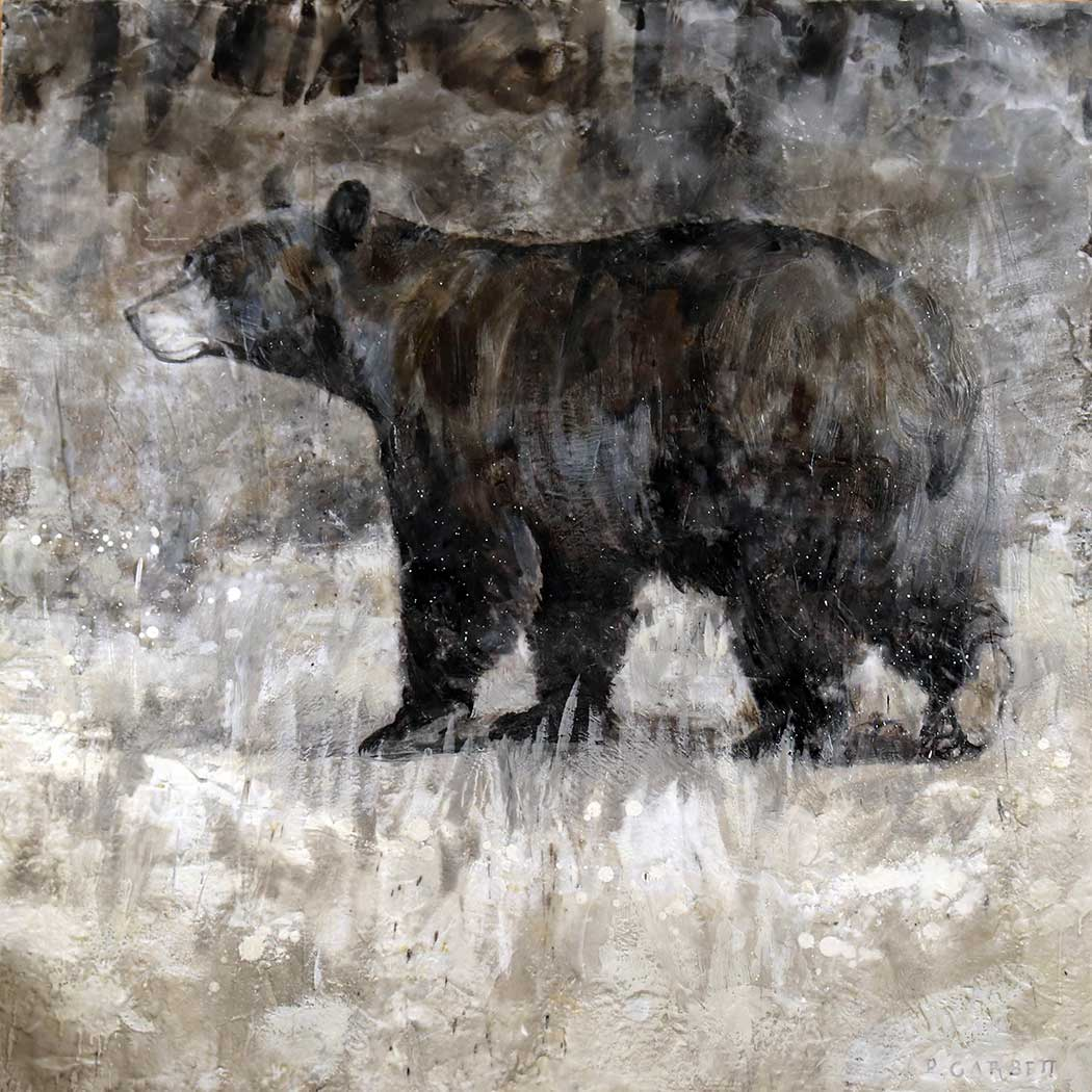 Walking Bear Limited Edition Print 61-03 LEP